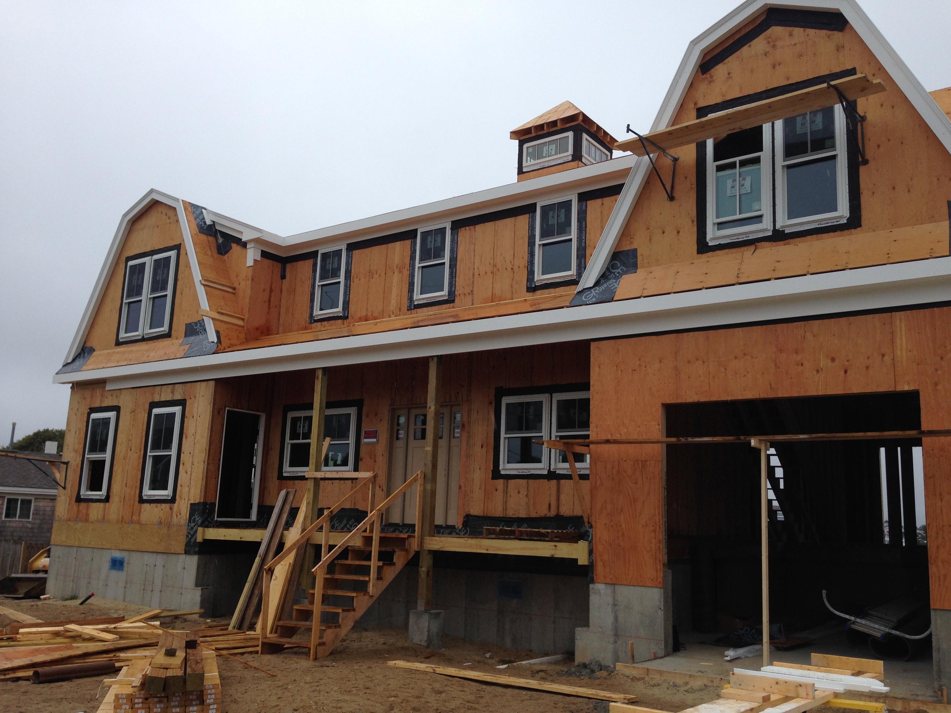 Custom Home Building Window Installation
