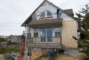 Siding Contractors siding contractors Cape Cod Siding Contractors Seaside Home in Eastham Window and Siding