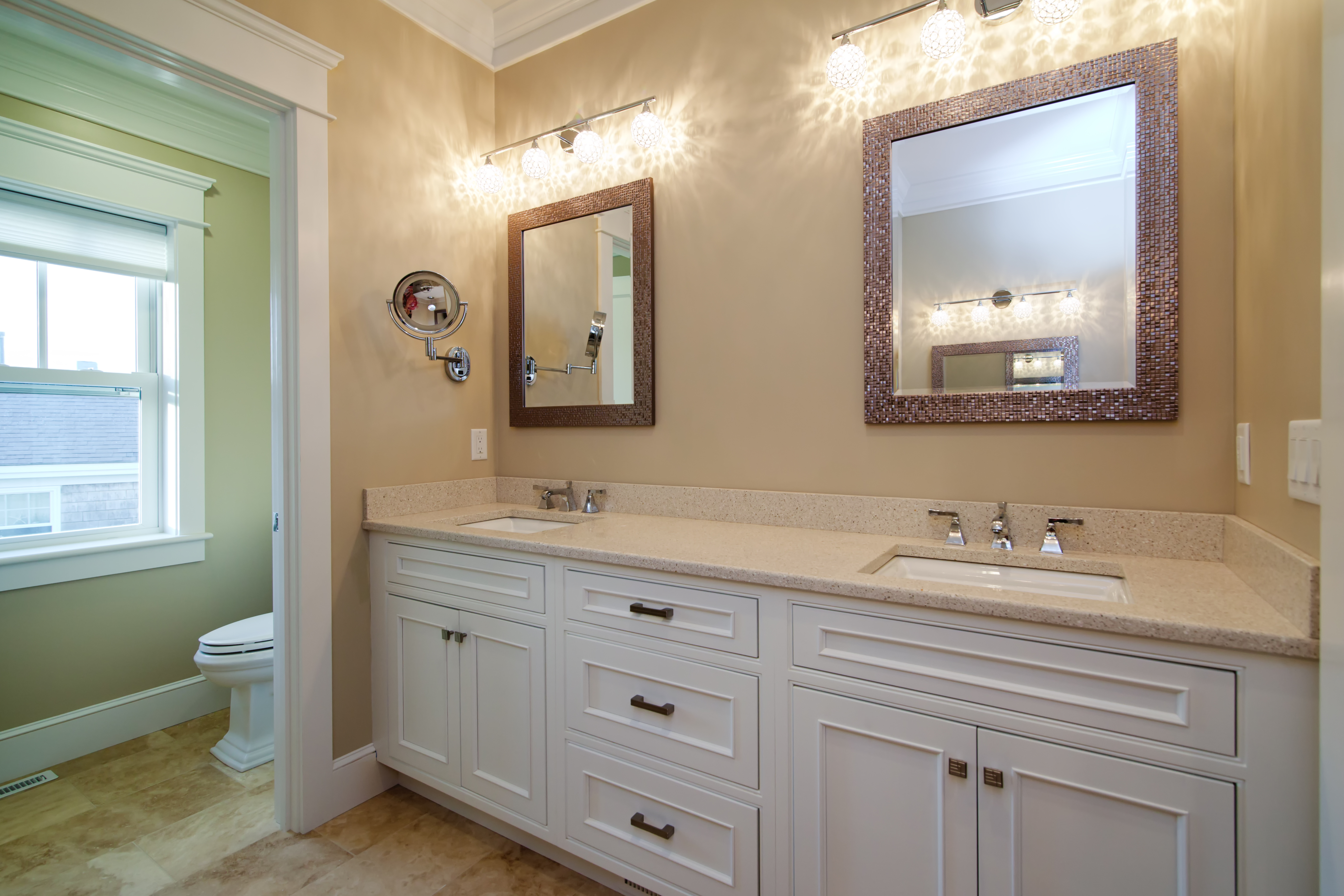 Bathroom Remodel His and Hers Sinks